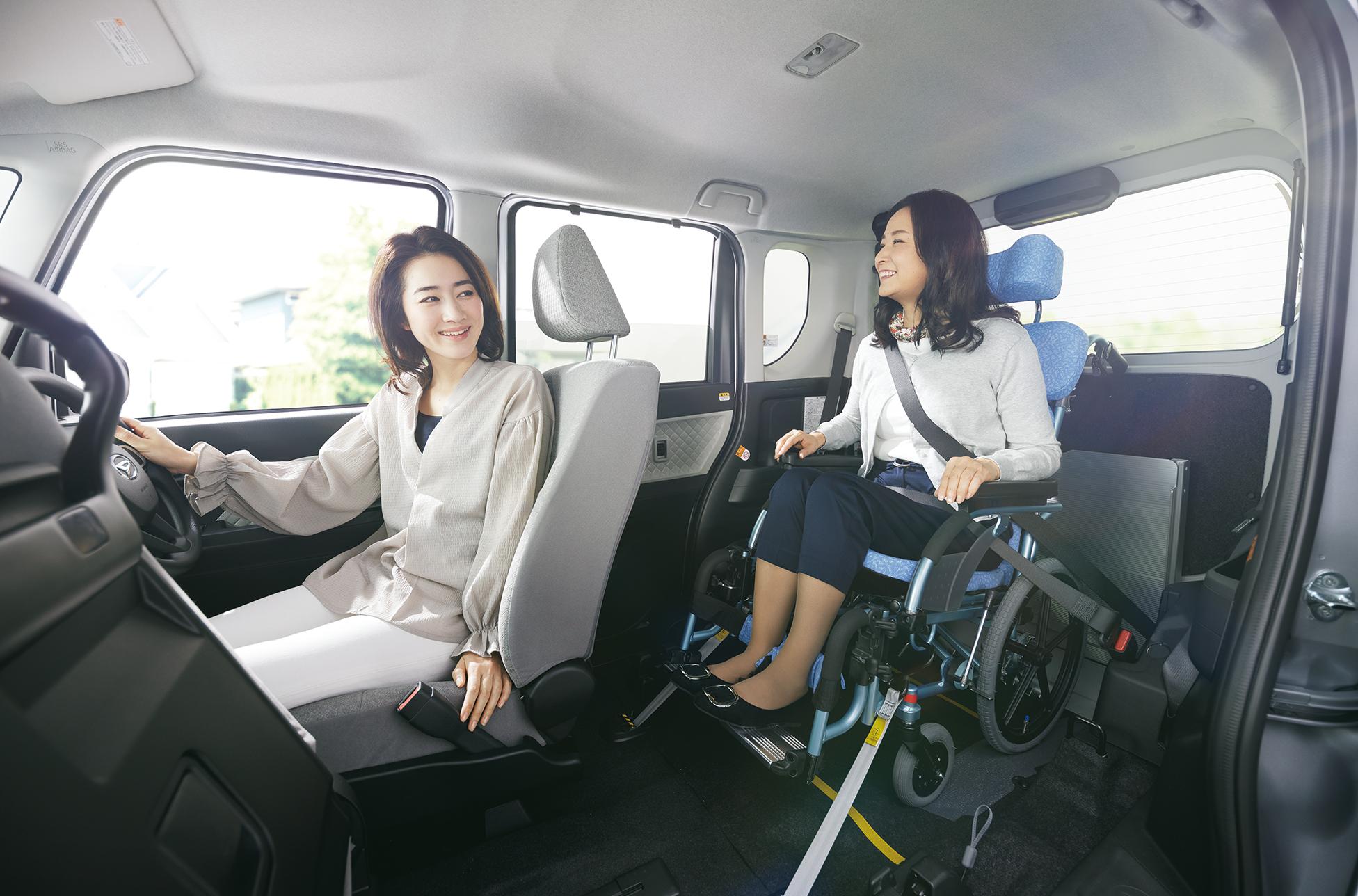 車いすの方が利用しやすいトイレ
